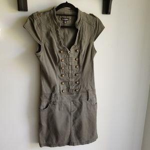 👗LE CHATEAU ARMY GREEN DRESS